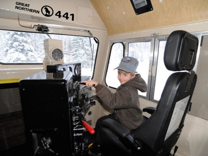 """The conductor car is in excellent condition with all the original equipment. Young """"conductors"""" love it too."""
