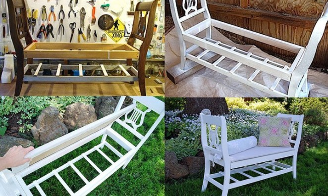 Make a French-style bench.