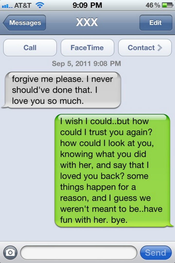 22 Breakup Text Messages - Bye Felicia!