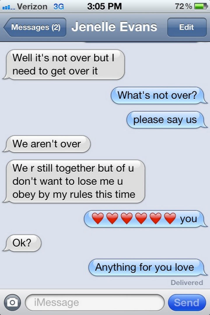 22 Breakup Text Messages - I'm confused.