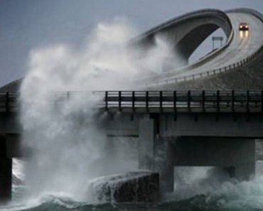 A Dangerous Drive Through Norway's Atlantic Ocean Road.