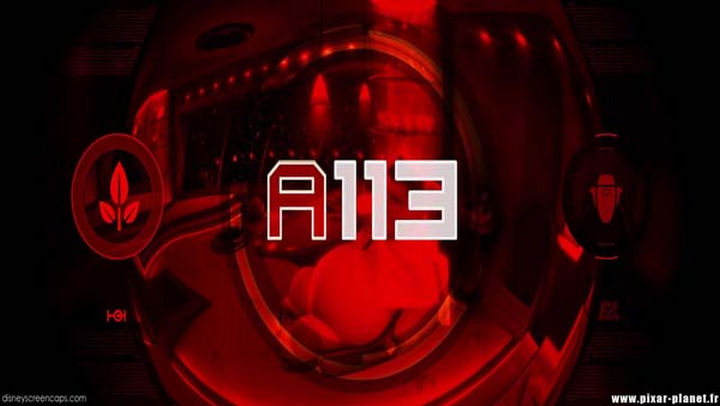 Disney and Pixar 'A113 Easter Egg - The code for the Abandon Earth protocol in WALL-E.