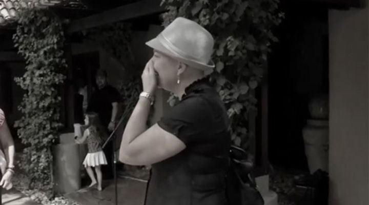 When Gerdi found out what her friends did for her, she couldn't hold back the tears. Simply beautiful.