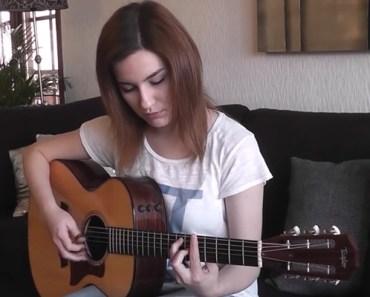Gabriella Quevedo Beautifully Playing 'Hotel California' Cover.