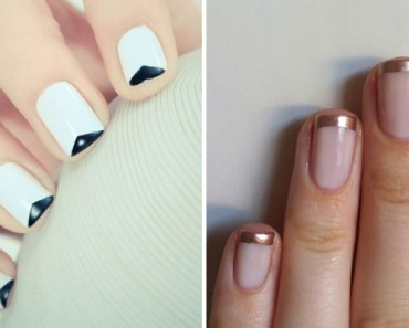 18 Gorgeous French Manicure Designs With a Twist of Creativity.