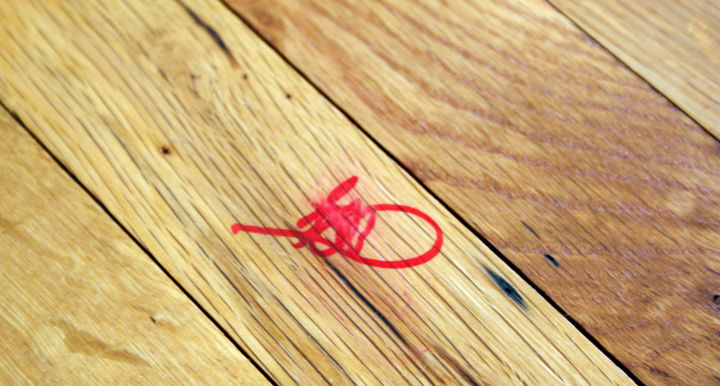35 House Cleaning Tips - Remove permanent marker from wood.