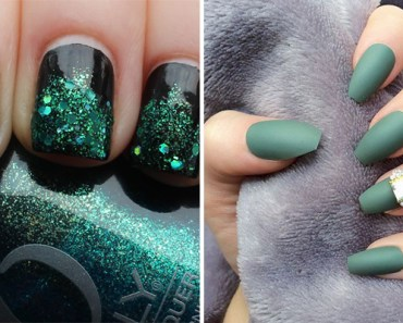 18 Green Manicures That Prove It Is the Perfect Shade for Fall.