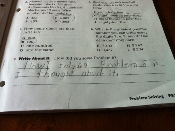 18 Funny Test Answers - A silly question deserves a silly answer.
