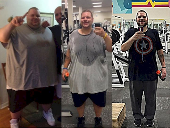 18 Before and After Weight Loss Photos - Ronnie Brower wanted to transform himself and he succeeded big time! He lost over 400 pounds in 22 months.