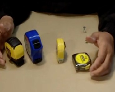 Today I Learned Tape Measures Have These 4 Handy Features.