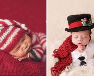 13 Cute Babies Dressed in Christmas Outfits Is Adorable.