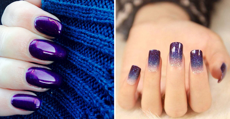 22 Purple Nails That Are Stunning And Will Get You Noticed