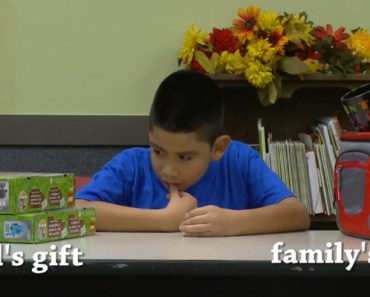 Social Experiment Asks Kids to Choose Between Two Christmas Gifts.