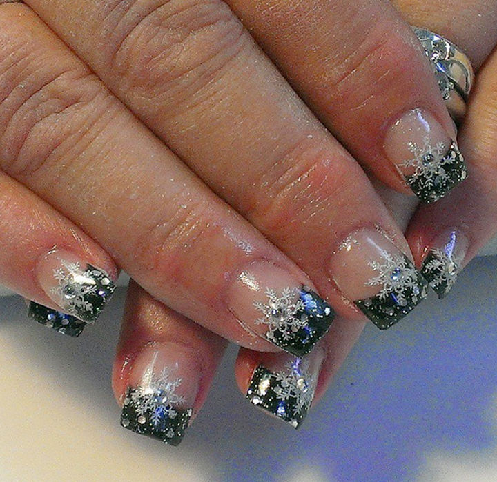 39 Winter Nails - Winter tips.