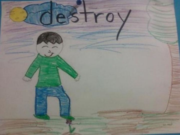 35 Funny Drawings from Kids - Anger issues?