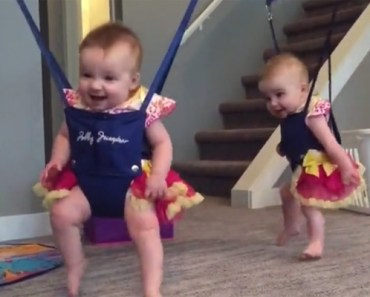 These Twin Babies Love to Riverdance and It's Adorable.