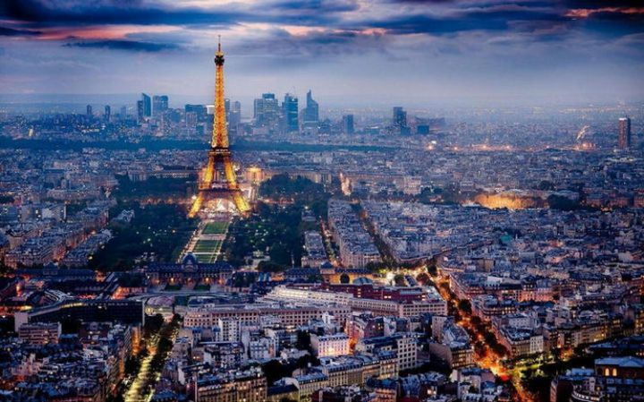 Top 25 Travel Destinations 2019: Paris, France.