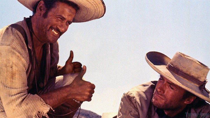 23 Movie Action Scenes Where Guns Were Replaced with a Thumbs-Up - 'The Good, The Bad And The Ugly'