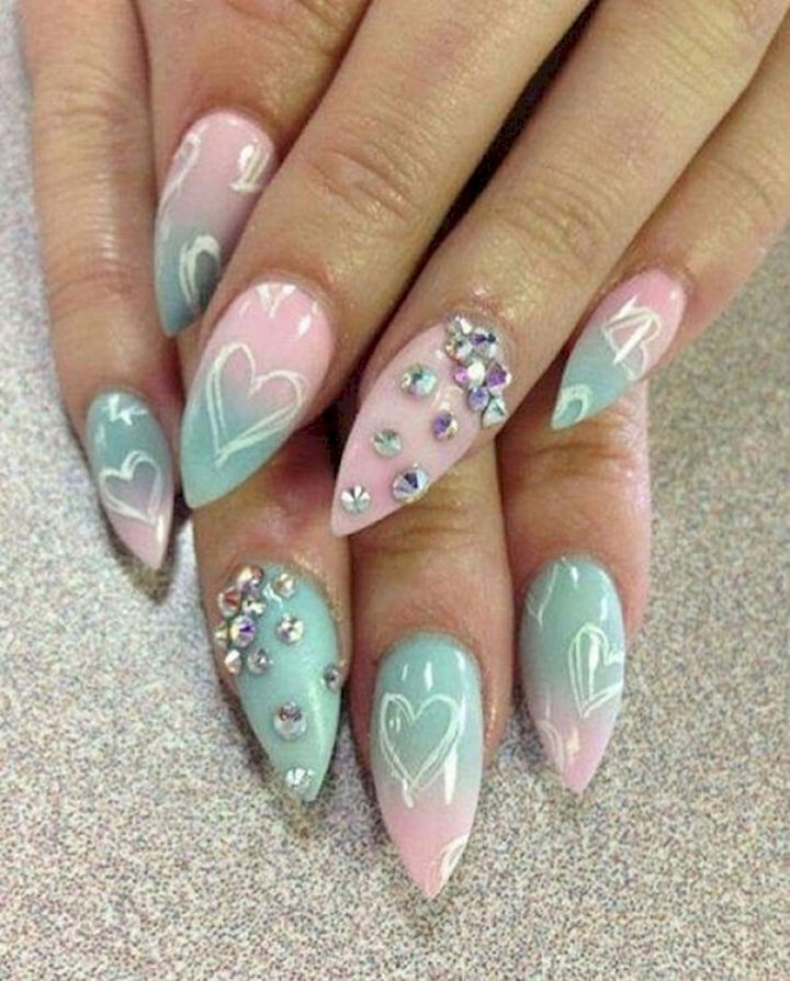 18 Spring Nails - Gorgeous spring pastels.