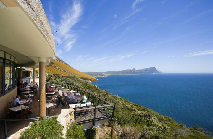 39 Amazing Restaurants With a View - Two Oceans in Cape Point, South Africa.