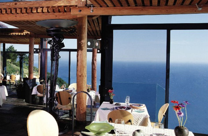 39 Amazing Restaurants With a View - Sierra Mar in Big Sur, California, USA.