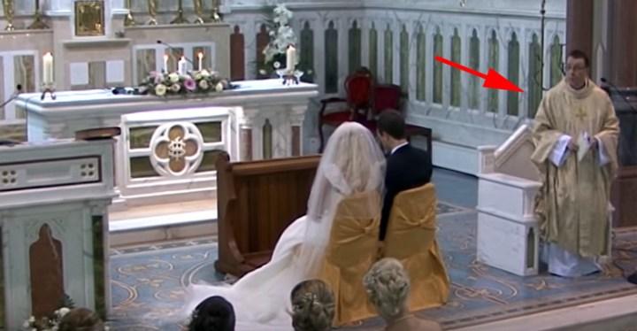 Irish Catholic Priest Father Ray Kelly Sings Custom Version of 'Hallelujah' for Wedding Couple.