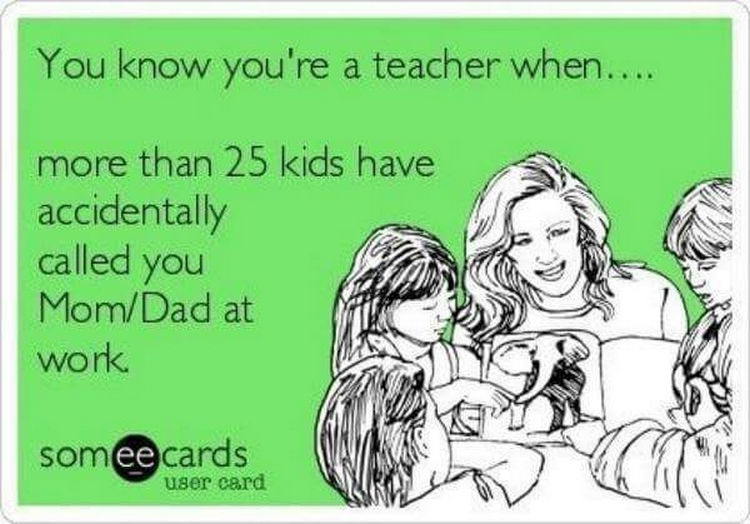 67 Hilarious Teacher Memes - Hi mom.