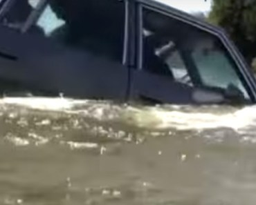 How to Quickly Escape a Car Sinking in Water. Every Second Counts.