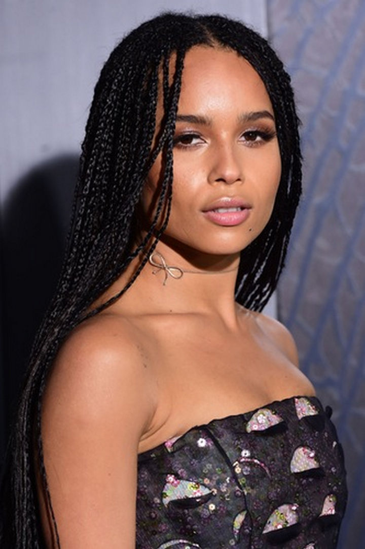 Zoë Kravitz is an actress like her mom and a singer like her dad Lenny Kravitz! She's also a model and at only 27, she has a bright future ahead of her.