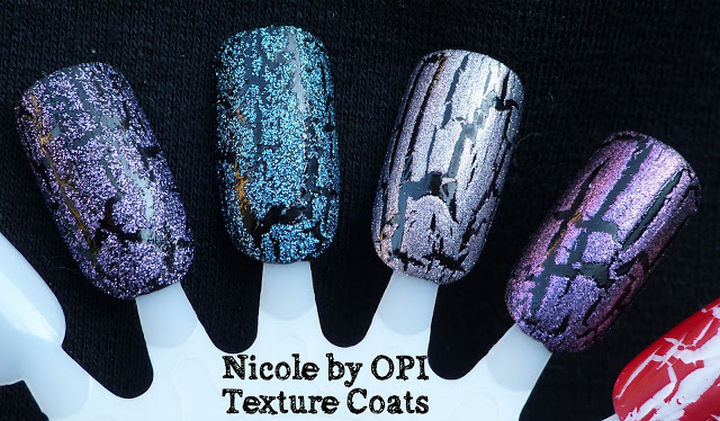 13 Quick and Easy Ways to Save a Chipped Manicure - Hide a chipped manicure with a texture coat.