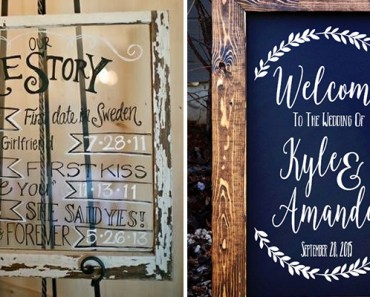 18 Wedding Signs That Are So Perfect You'll Want Them at Your Wedding.