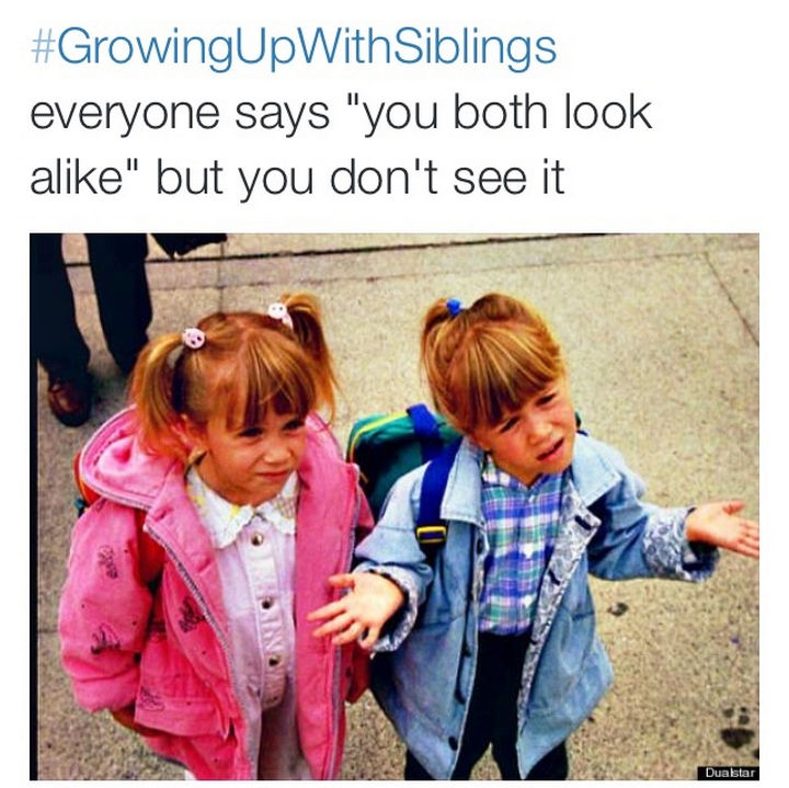 19 Photos of Growing Up With Siblings - You'll always have something you both relate to.