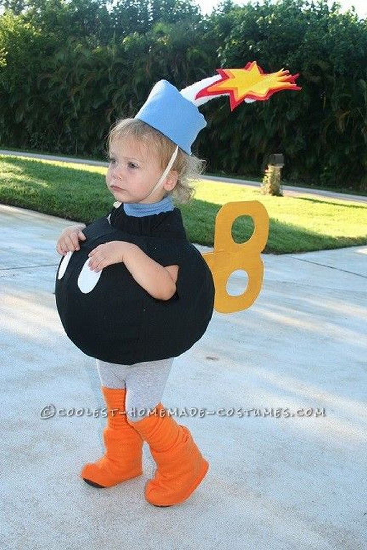 23 Super Mario and Luigi Costumes - Isn't this the cutest Bob-omb ever?