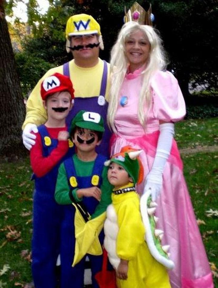 23 Super Mario and Luigi Costumes - The entire Super Mario family including Wario!