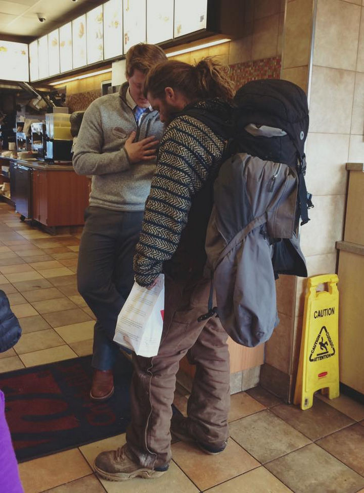 Chick-Fil-A Manager Prepares a Warm Meal for a Homeless Man.