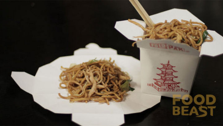 20 Everyday Life Hacks - Chinese food containers double up as plates when unfolded.