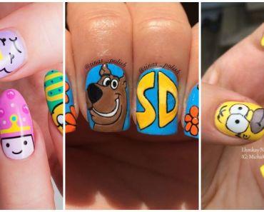 19 Cartoon Nails Inspired by Saturday Morning Cartoons.
