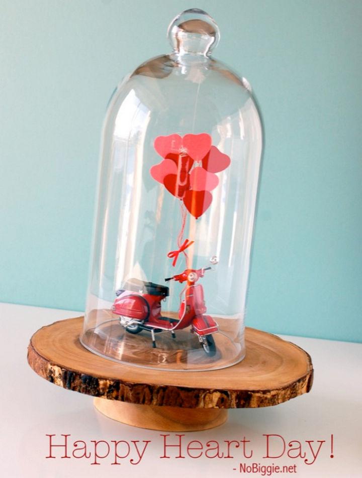 27 DIY Valentine's Day Crafts - Build a Valentine's Day vignette.