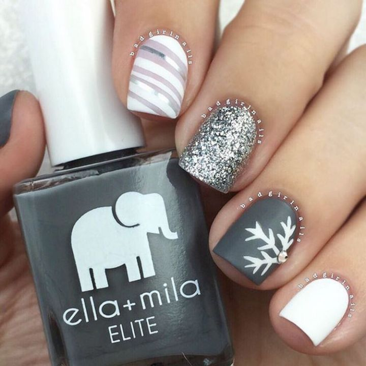 Trendy nails that are simply mesmerizing.