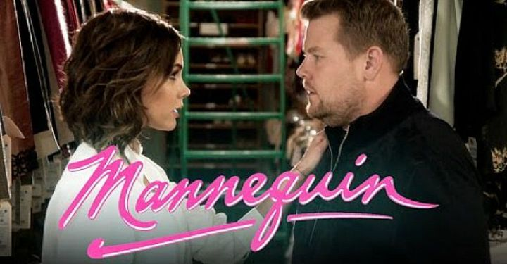 "Remake of the 1987 movie ""Mannequin"" Starring Victoria Beckham and James Corden."