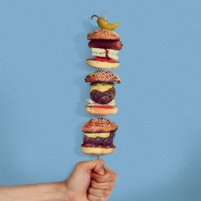 Fat andFurious Burgers - Baby Burger Q