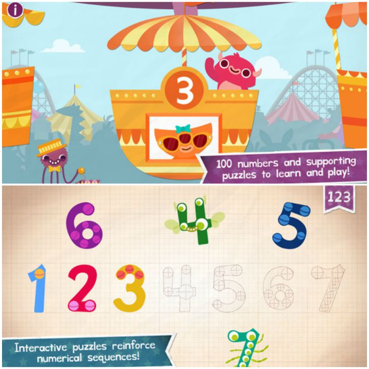 23 Kids Learning Apps - Endless Numbers.
