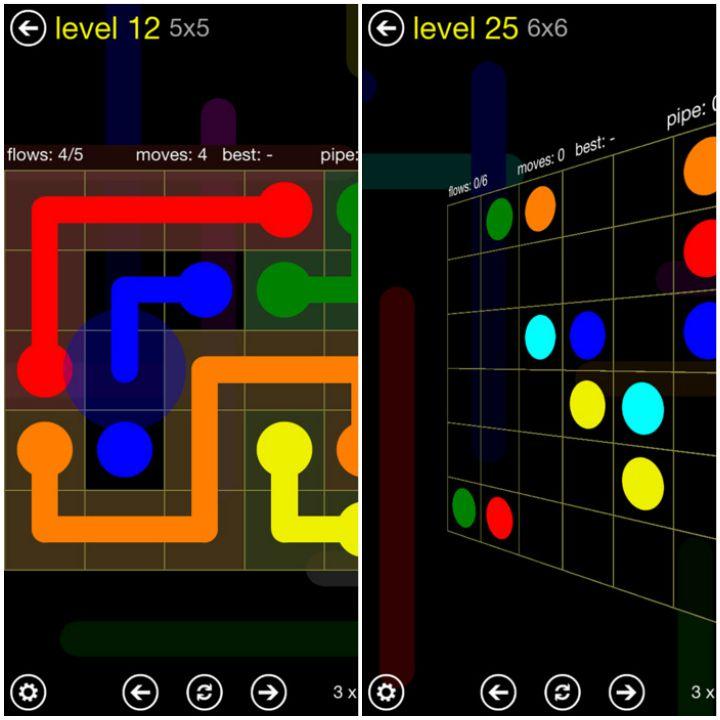 23 Kids Learning Apps - Flow Free.
