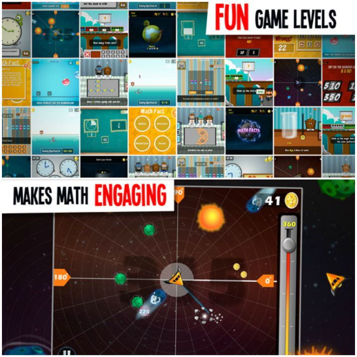 23 Kids Learning Apps - Middle School Math Planet.