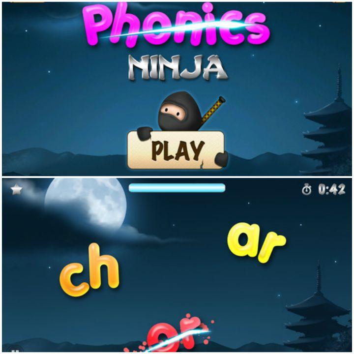 23 Kids Learning Apps - Phonics Ninja.