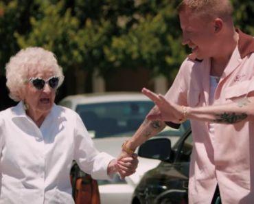 Macklemore Celebrates His Grandma's 100th Birthday with Glorious Video.
