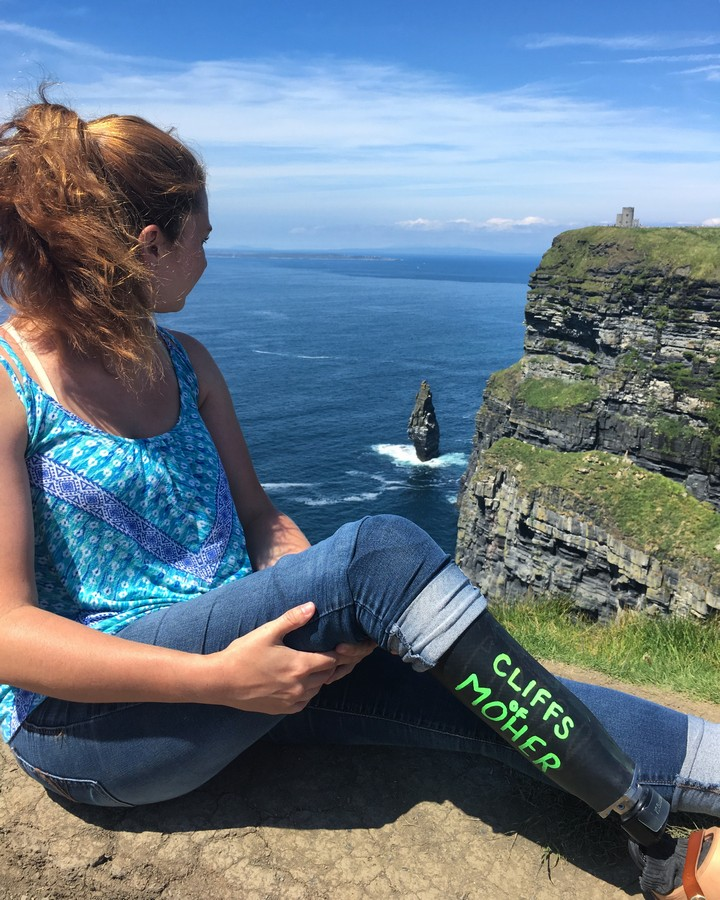 The wondrous Cliffs of Moher inLiscannor, Republic of Ireland.