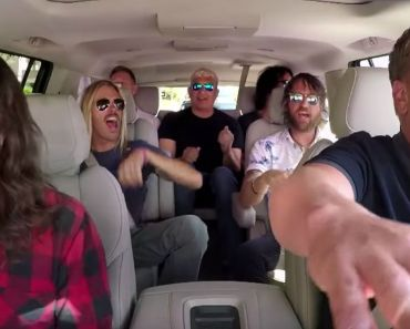 Foo Fighters Jam Together with James Corden on Carpool Karaoke.