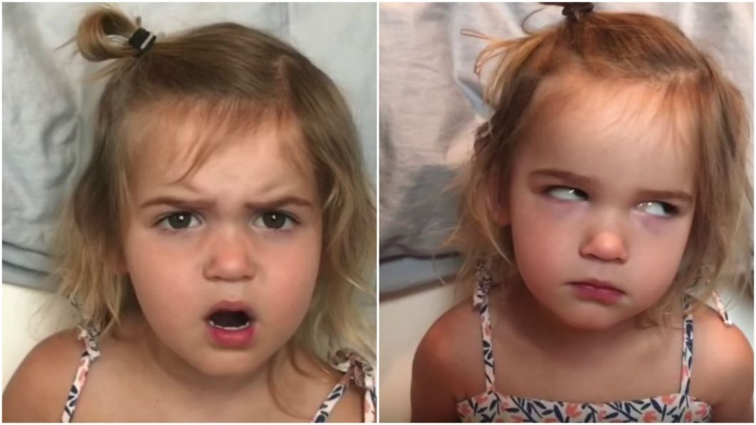 2-Year-Old Mila Stauffer Doesn't Handle Airport Security All That Well.
