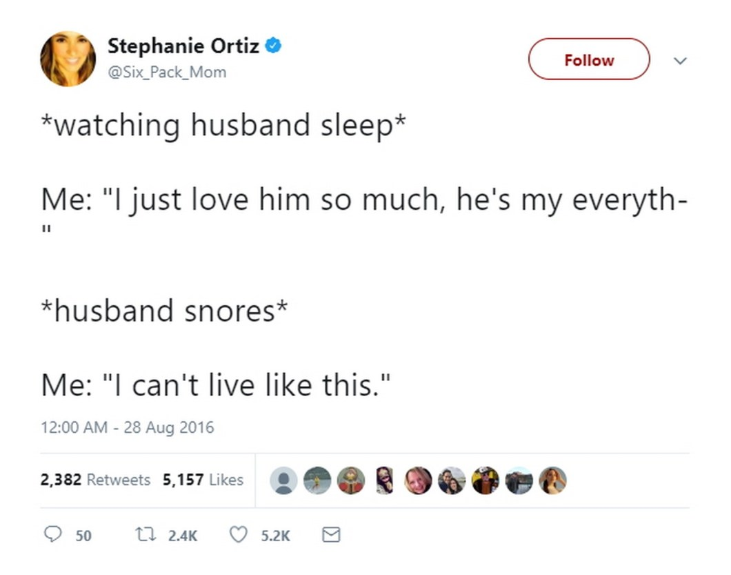 27 Best Marriage Tweets - Even marriage has its limits.